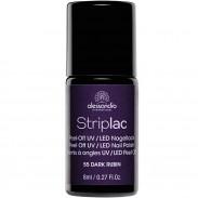 alessandro International Striplac 55 Dark Rubin 8 ml