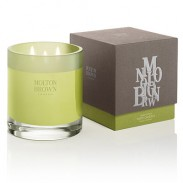 Molton Brown HOME Golden solstice forte candela