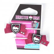 Solida Haarklemme Monster High rosa 2 Stück