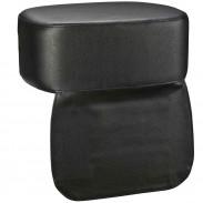 Hairforce Kindersitzkissen mit Latz schwarz
