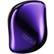 TANGLE TEEZER COMPACT STYLER Purple Dazzle Violett Metallic