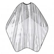Trend-Design Mesh Umhang Silber-Glitzer