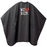 TREND DESIGN Umhang We Love Hair Nano Schwarz