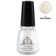 Trosani Topshine Nagellack 003 Pearl Seashell 17 ml