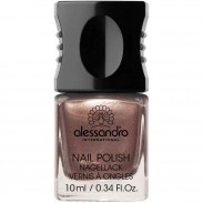 alessandro International Nagellack 71 Brown Metallic 10 ml