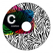 Costoo Happygrip Zebraprint 1 Stück
