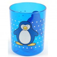 Solida Kinderbecher Pinguin, blau