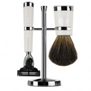 Gentlemen's Tonic Shaving Accesoire Savile Row Set Ivory