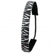 Ivybands Zebra Black White Haarband