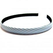 Szenario Haarreifen Streifi blau 1 cm