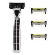Shave-Lab Starter Set Tres Black P.6+1 Men