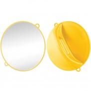 Hairforce Kabinettspiegel rund, gelb