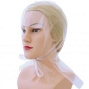 Hairforce Einweg-Strähnenhauben transparent doppelt, 50er Beutel