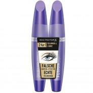 Max Factor Bundle False Lash Effect FUSION Mascara Black 2 x 13,1 ml