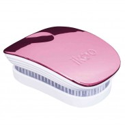 ikoo brush POCKET white - rose metallic