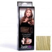 Hairdo Haarteil Clip in Wavy Extension R22 Swedish Blond 55 cm