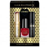Max Factor Geschenk-Set Lipfinity 40+Gel Lac 50+Masterpiece
