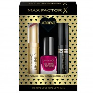 Max Factor Geschenk-Set Lipfinity 60+Gel Lac 55+Masterpiece