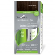 TouchBack Shampoo & Conditioner Set Mittelbraun 2 x 118 ml