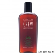 American Crew 3-in-1 Tea Tree Shampoo, Conditioner & Bodywash 100 ml