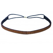 Comair Haarband Zopfband braun