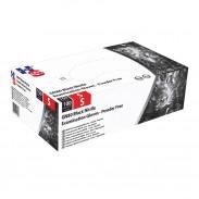 Comair Nitrilhandschuhe GN80 L schwarz puderfrei 100er Box