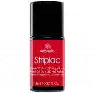 alessandro International Striplac 907 Ruby Red 8 ml