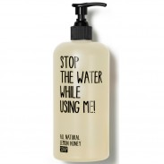 Stop the water while using me! All natural Lemon Honey Soap 200 ml