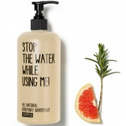 Stop the water while using me! All natural Rosemary Grapefruit Shampoo 5 l