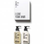 Stop the water while using me! All natural Hair-Kit
