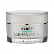Klapp Cosmetics Clean & Active Cream Peeling 50 ml