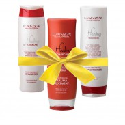Lanza Set Healing Color mit gratis Treatment & Kosmetiktasche