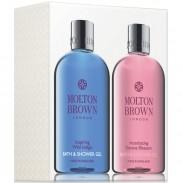 Molton Brown Inspiring Wild Indigo + Intoxicating Davana Blossom Bath & Showergel Set