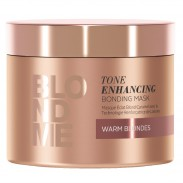 Schwarzkopf Blondme Enhance Bond Maske Warm 200 ml