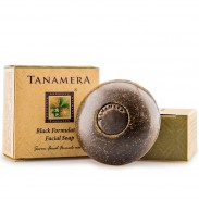 Tanamera schwarze Gesichtspeeling Seife 60 g