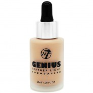 W7 Cosmetics Genius Foundation Sand Beige 30 ml