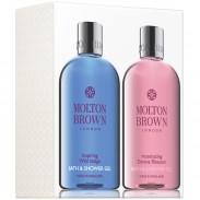 Molton Brown Inspiring Wild Indigo & Intoxicating Davana Blossom Shower Gel Duo 2x300 ml