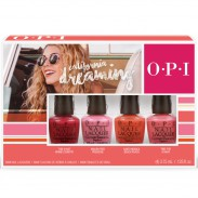 OPI California Dreaming DDC27 Nail Lacquer Mini 4-Pack