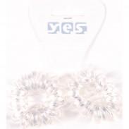 Solida XXL-Spiralzopfgummis transparent 2 Stück
