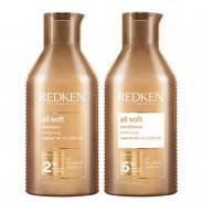 Redken All Soft Bundle Shampoo & Conditioner 2x 300 ml