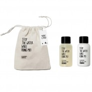 Stop the water while using me! White Sage Mini Geschenkset with Bag
