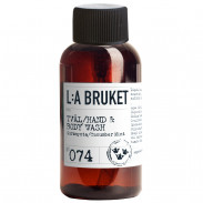 L:A BRUKET No. 74 Liquid Soap Cucumber/Mint 60 ml