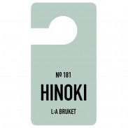 L:A BRUKET No.181 Fragrance Tag Hinoki