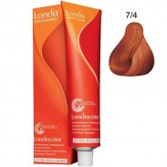 Londa Demi-Permanent Color Creme 7/4 Mittelblond Kupfer 60 ml
