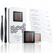 Beautiful Brows Brow Kit DUO - Dark Brown / Chocolate
