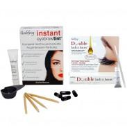 GODEFROY Instant Eyebrow Tint Dunkelbraun + Double Lash & Brow