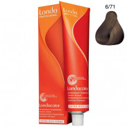 Londa Demi-Permanent Color Creme 6/71 Mittelbraun Braun-Asch 60 ml