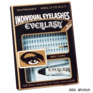 Everlash Wimpern long lang schwarz
