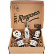 Morgan's Moustache and Beard Grooming Gift Set