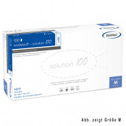 MaiMed Solution 100 Nitril 100 Stück Weiß Gr. L